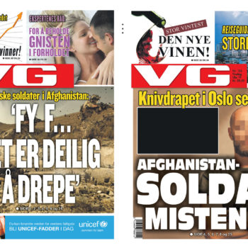 Nobel - News paper fronts