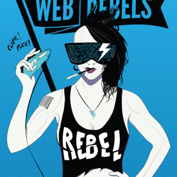 RebelGirl_Poster_BlacknBlue_50x70
