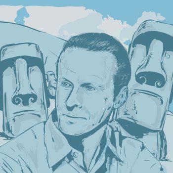 Thor Heyerdahl portrett