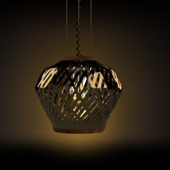 Bronze Lamp shade